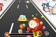 Spelletje Kerstman Race Spelen