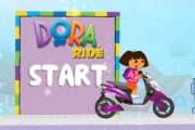 Spelletje Dora Scooter Spelen