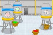 Spelletje Snoep Fabriek Ontsnappen Spelen