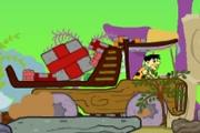 Spelletje Flintstones Truck Spelen
