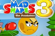 Spelletje Mad Shapes 3 Spelen
