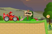 Spelletje Mario Sportcar Spelen