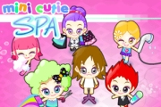 Spelletje Mini Cutie Spa Spelen