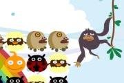 Spelletje Monkey Clix Spelen