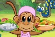 Spelletje Monkey Diner Spelen