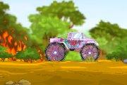 Spelletje Monstertruck Forest Spelen