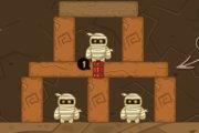 Spelletje Mummie Vernietigen Spelen