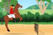 Spelletje Paard Rijden 2 Spelen