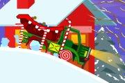 Spelletje Santa Truck 3 Spelen