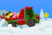 Spelletje Santa Truck Spelen