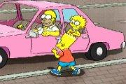 Spelletje Simpson Parking Spelen