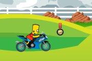 Spelletje Simpson Bike Ride Spelen