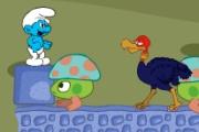Spelletje Smurf Adventure Spelen