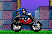 Spelletje Sonic Ninja Motorbike Spelen