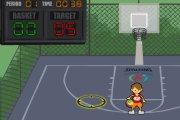 Spelletje Basketballen Spelen