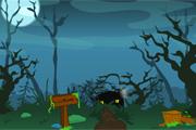 Spelletje Spooky Night Escape Spelen