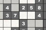 Spelletje Sudoku Spelen