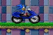 Spelletje Sonic Motorbike Spelen