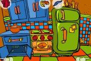 Spelletje Keuken Doolhof Spelen