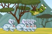 Spelletje Schildpad Lanceren Spelen