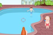 Spelletje Water Pistool Spelen
