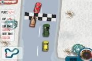 Spelletje Winter Race Spelen
